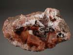Chabazite, on Siliceous SinterZeolites, Bay of Fundy, Nova Scotia, Chabazite